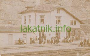 ЖП гара Лакатник, 1920-те год., по-късно я помним като Автогара Лакатник
